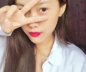 asian, girl, and makeup image