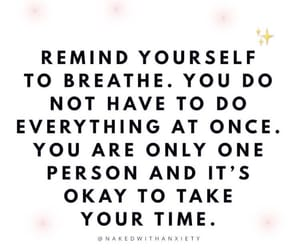 breathe, remind, and okay image
