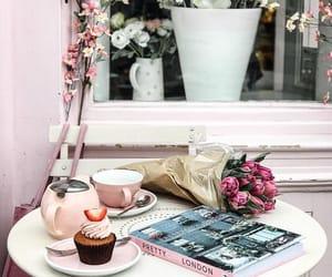 coffee, cupcake, and enjoy image