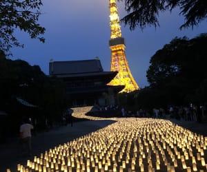 beautiful, japan, and night view image
