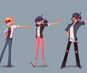Adrien, Chat Noir, and love triangle image