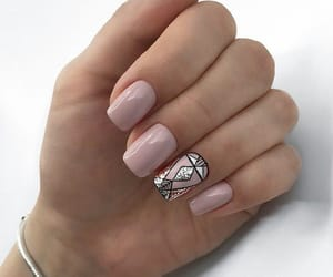 art, geometry, and nails image
