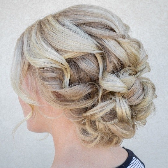 Gorgeous Updo Wedding Hairstyles Chic Updo Hairstyle Ideas