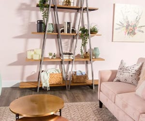 bookshelf, design, and home image