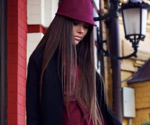 black, girl, and long hair image