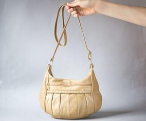 etsy, leather shoulder bag, and sister gift bag image