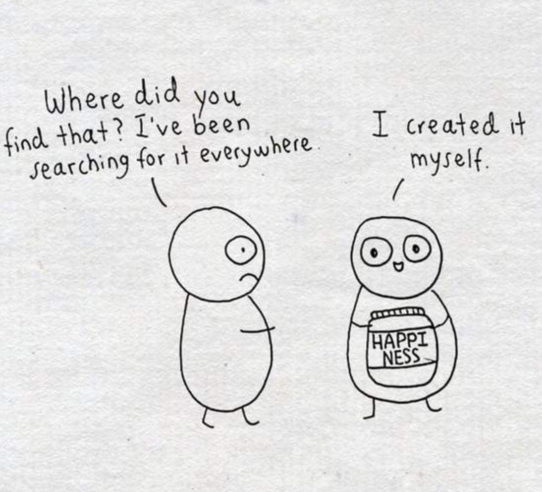 find happiness in yourself discovered by ss