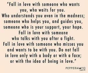 love, someone, and fall in love image