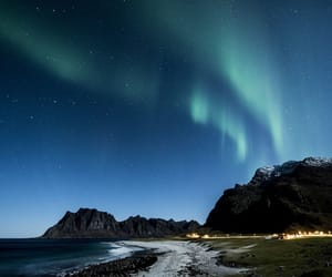 aurora, beautiful, and europe image