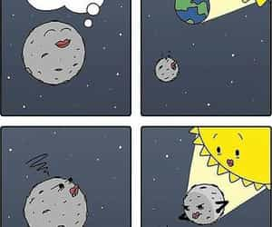 cartoon, earth, and funny image