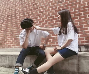 asian, couple, and ulzzang couple image