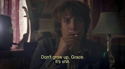 article, growing up, and life image