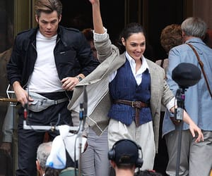 chris pine, pretty, and wonder woman image