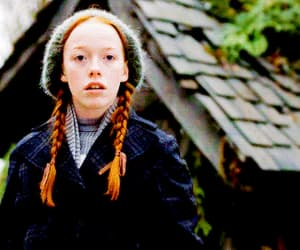 anne shirley, red hair, and gif image