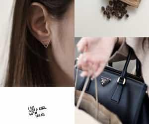 bag, coffee, and idea image