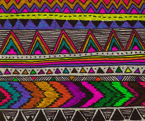 aztec, colorful, and hippie image