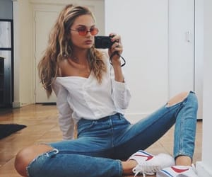 fashion, romee strijd, and style image