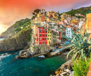 beautiful, italy, and Riomaggiore image