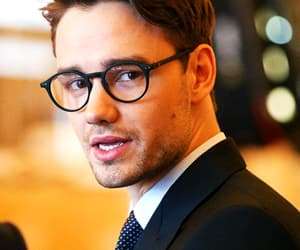 liam payne, one direction, and glasses image