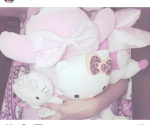 hello kitty, pastel, and plushies image