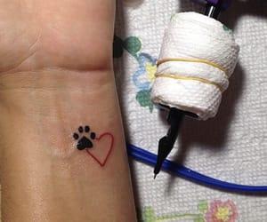 dog, tattoo, and pet image