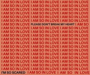 love, red, and quotes image