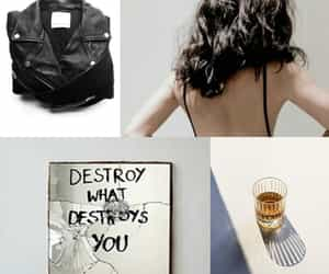 aesthetic, jacket, and leather image
