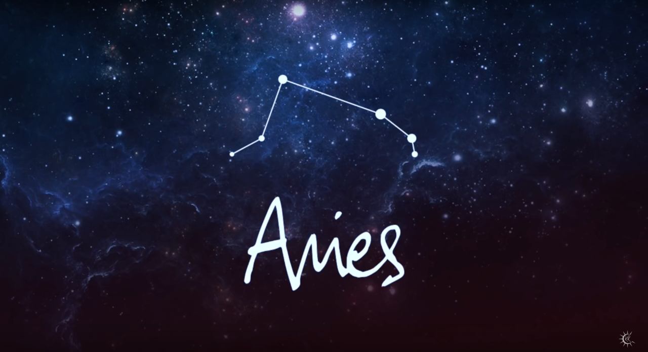 aries, stars, and zodiac image