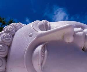 aesthetic, Buddha, and white image