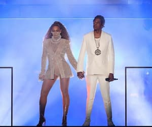couple, jay-z, and husband and wife image