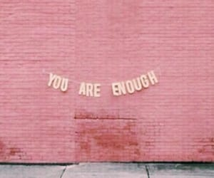 quotes, pink, and wall image