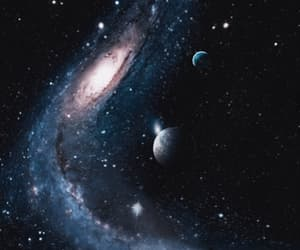 galaxy, space, and gif image