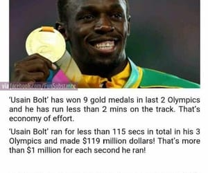 awesome, investment, and usain image