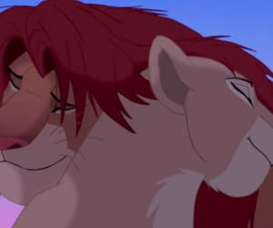 disney, the lion king, and lion love image