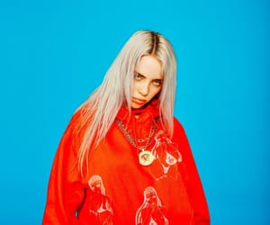 billie, billie eilish, and blue image