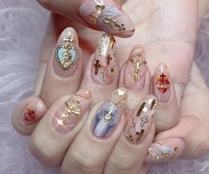 nails, aesthetic, and beauty image