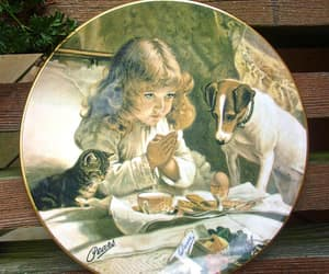 decorative, plate, and fine bone china image