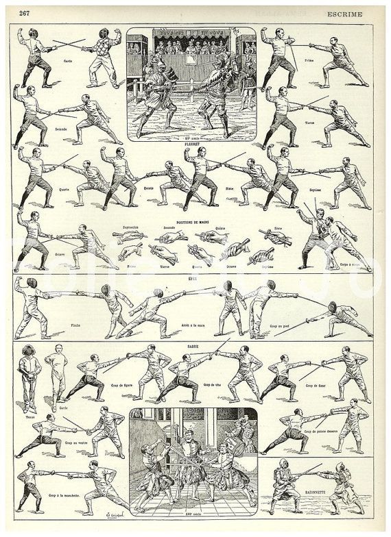 fencing and sword image
