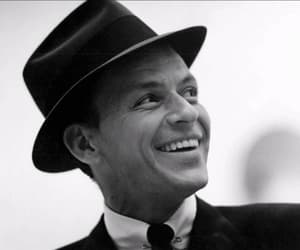 frank sinatra, vintage, and black and white image