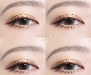 eyes, korean, and makeup image