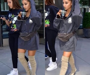 celebrity, ariana, and grande image