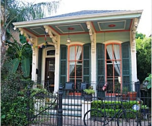 city, cottage, and new orleans image