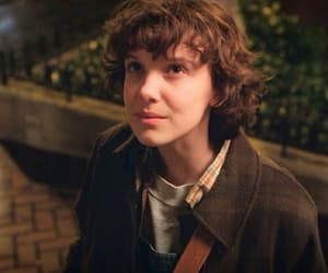 eleven, stranger things, and girl image