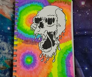 art, drawing, and melt image