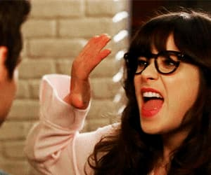 gif, gifs, and zooey deschanel image