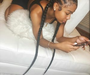 cute, braids, and amour jayda image