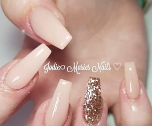 inspiration, nails, and Nude image