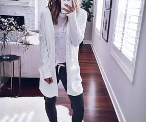 cosy, fashion, and model image