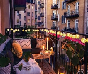 balcony, sweden, and cute image