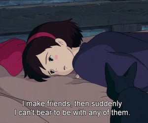 anime, quotes, and kiki's delivery service image